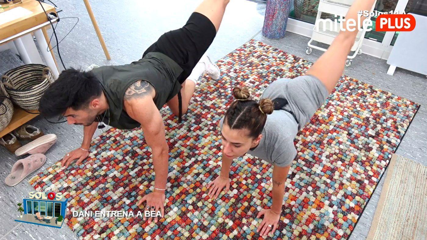 Bea y Dani Dani pone en forma a Bea - Entrenamiento completo