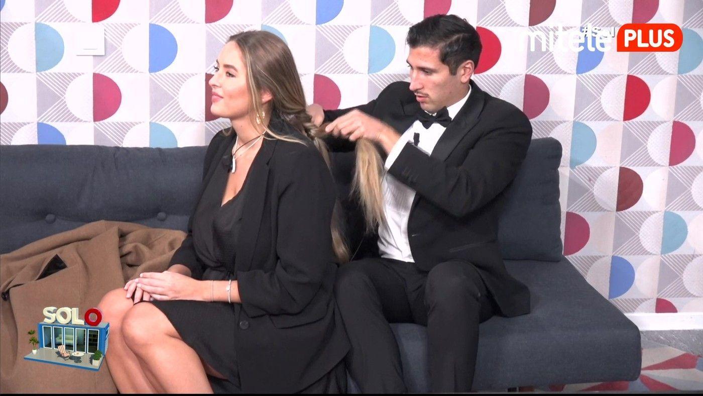 Gianmarco Onestini Cena con Elena - La cita de Gianmarco no se corta un pelo