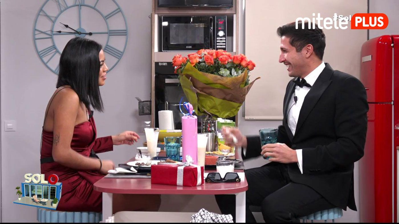 Gianmarco Onestini Cena de Gianmarco y Katty - Bombones, risas y mucha complicidad
