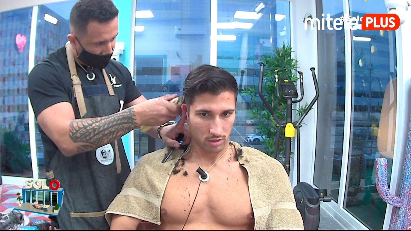 Gianmarco Onestini Corte de pelo - Sesión de peluquería