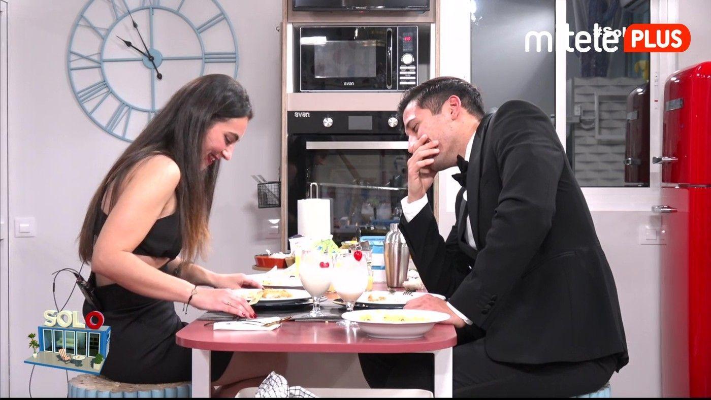 Gianmarco Onestini La cena de Sandra y Gianmarco - Segunda cita nocturna del italiano