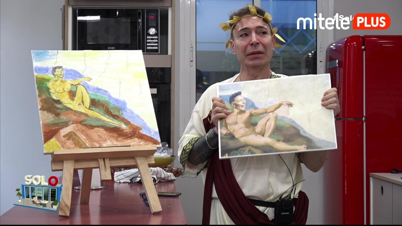 Maestro Joao El Maestro pinta 'La creación' - El 'ecce homo' de Joao