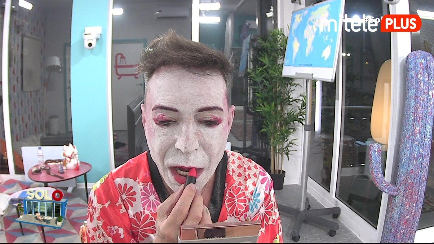 Maestro Joao Maquillaje de geisha - La clase de maquillaje tradicional japonés