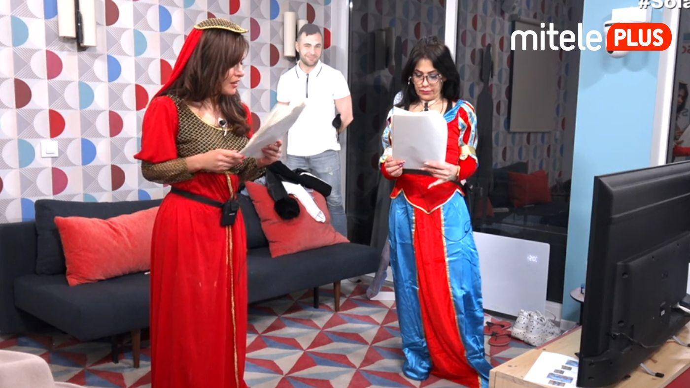 Maite Galdeano Interpretación con Miriam Saavedra - La 'princesa inca' vuelve al pisito