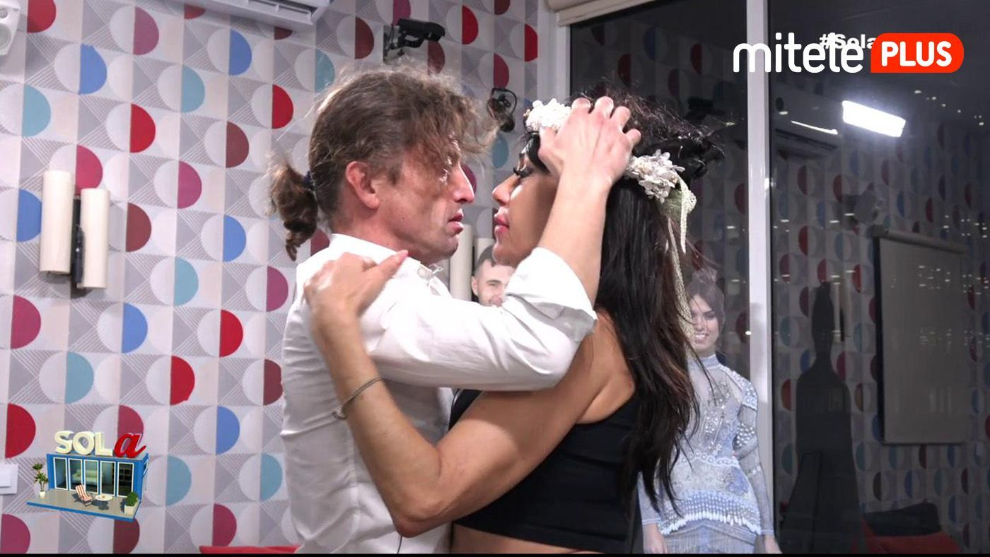 Maite Galdeano La noche más romántica - Visita sorpresa del novio de Maite