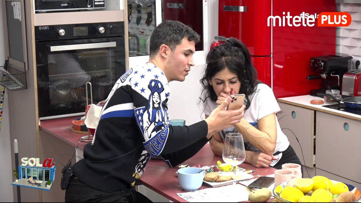 Maite Galdeano Visita de Kiko Jiménez - Maite recibe a su yerno