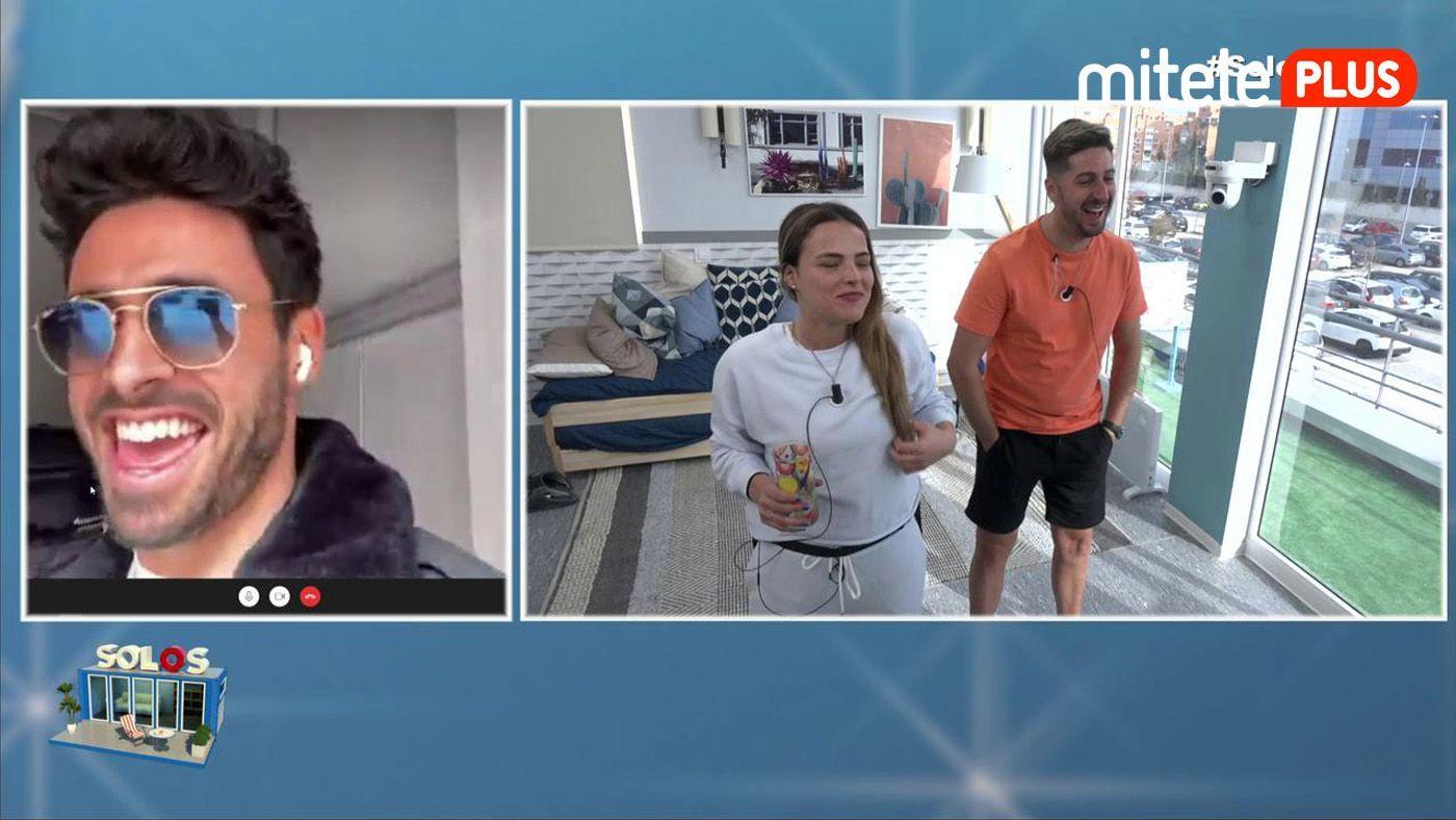 Marta y Lester Videollamada con Noel - Recuerdos y chismorreos