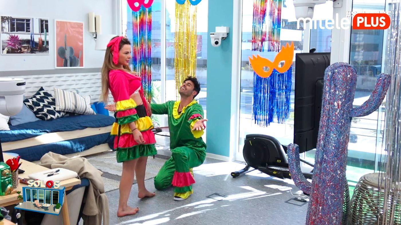 Marta y Noel Clase de samba - Comienza el Carnaval