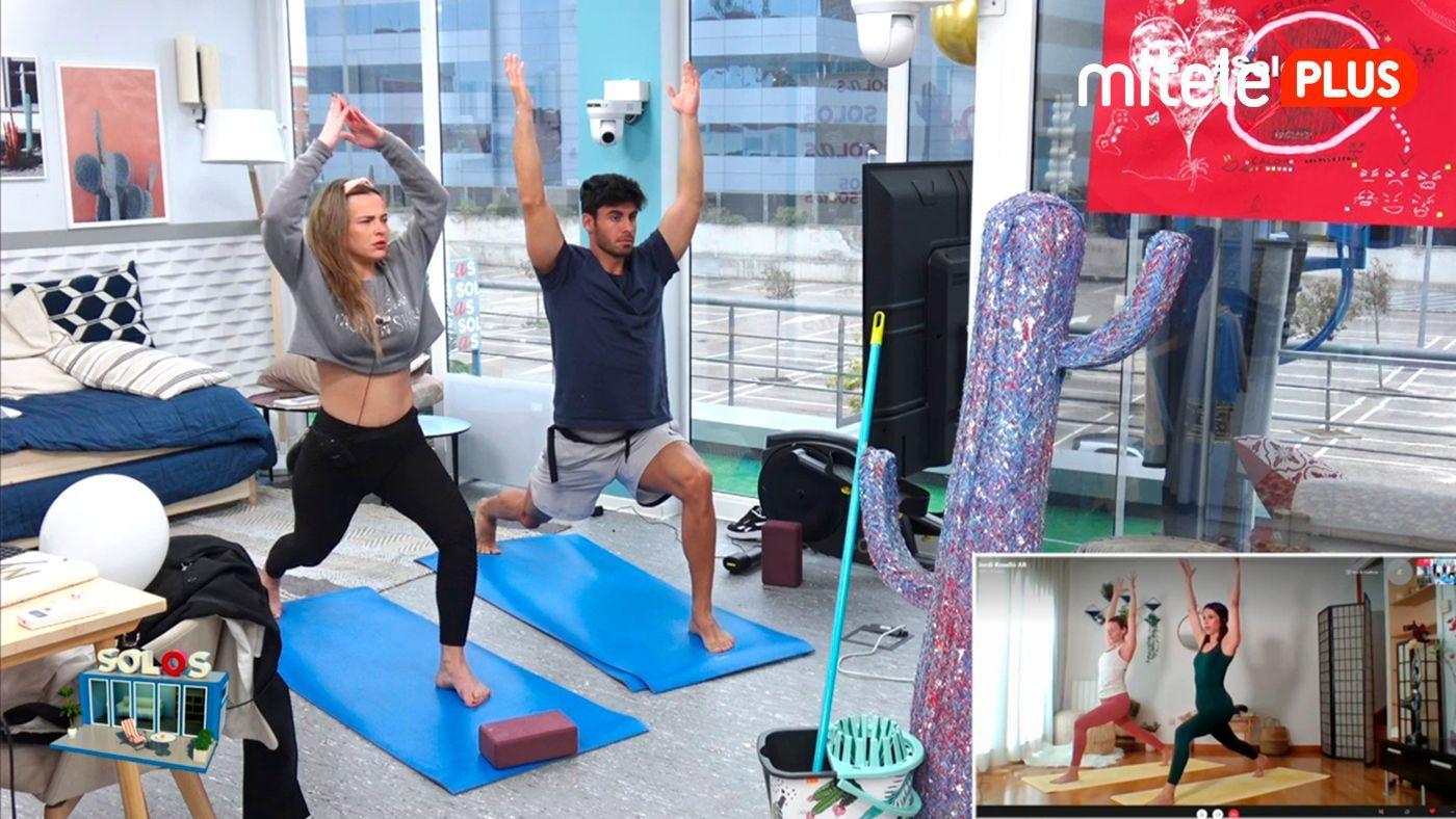 Marta y Noel Clase de yoga - Relax dominical