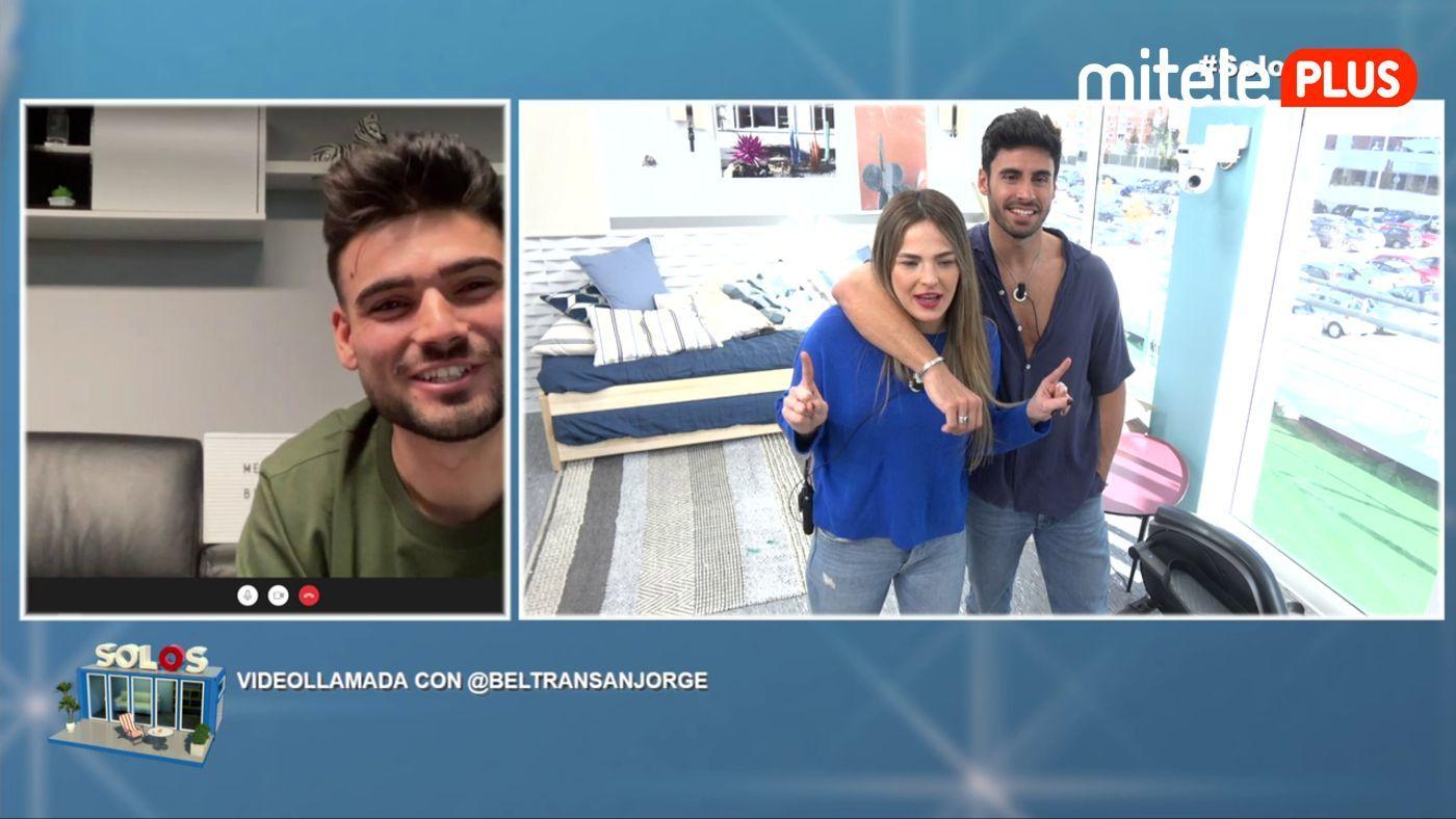 Marta y Noel Videollamada con Beltrán - Noel suspira por Melodie...