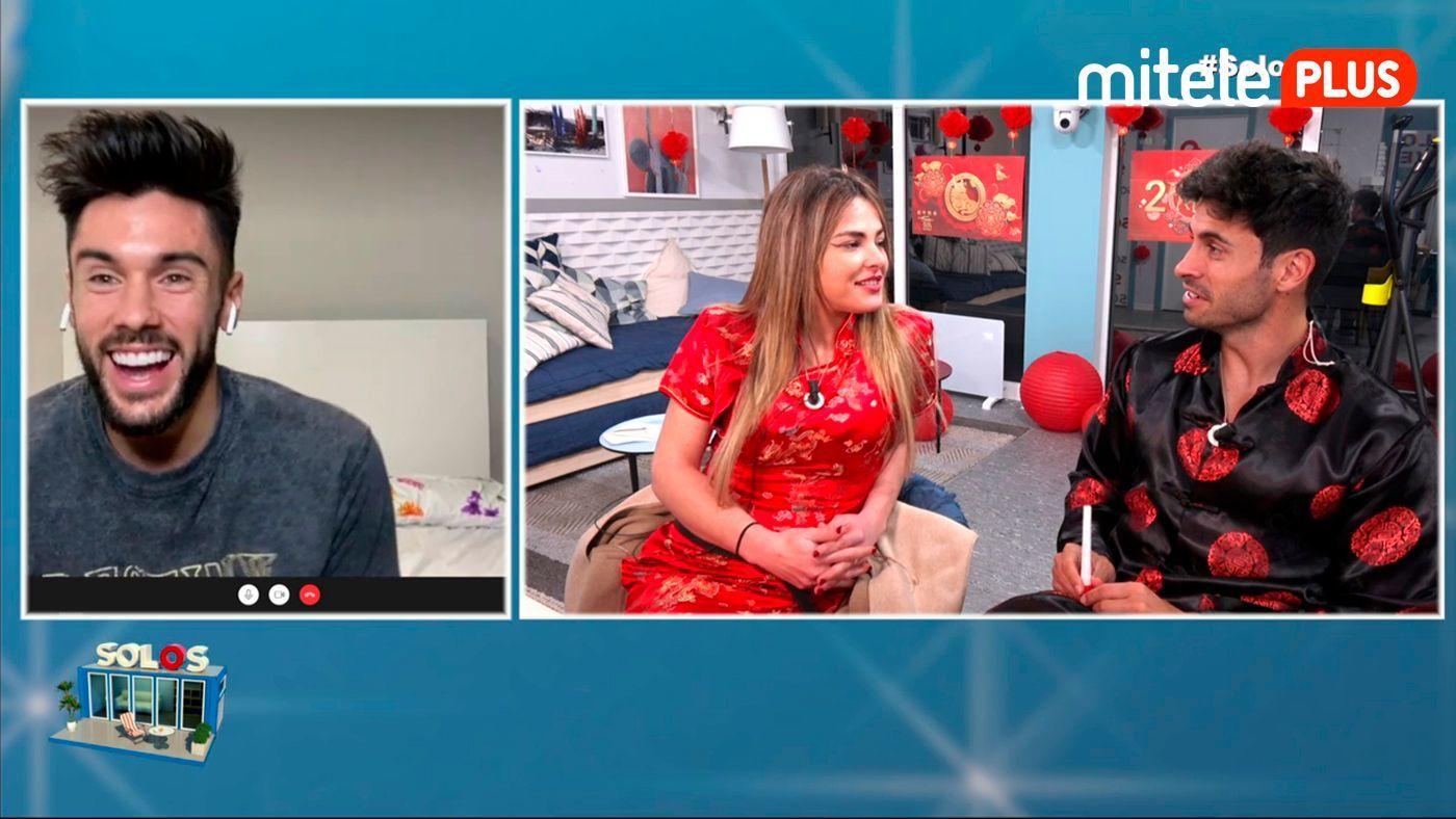 Marta y Noel Videollamada con Dani García - Marta se reencuentra con su tentación