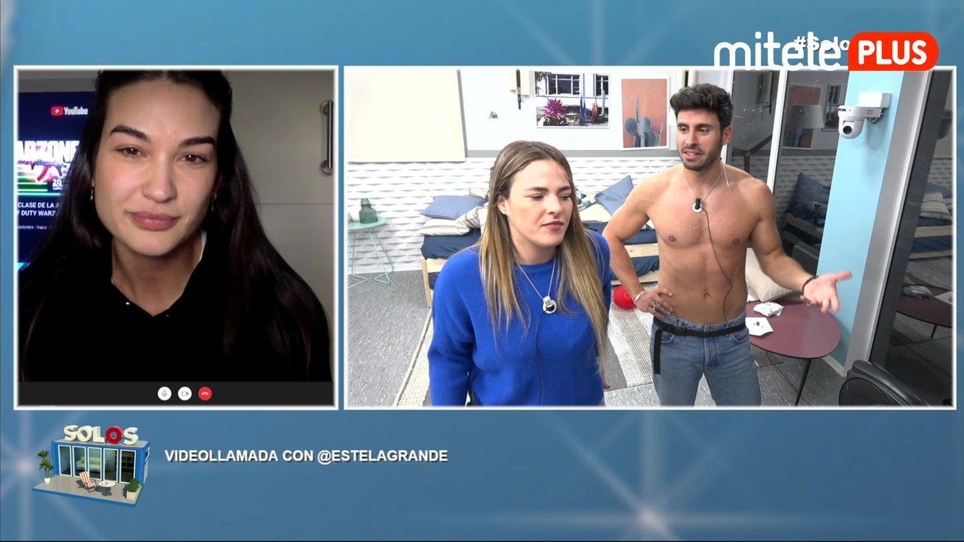 Marta y Noel Videollamada con Estela Grande - En el pasado hubo algún acercamiento...