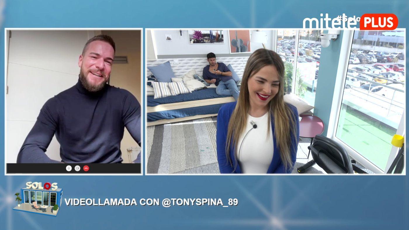 Marta y Noel Videollamada con Tony Spina - Reencuentro virtual
