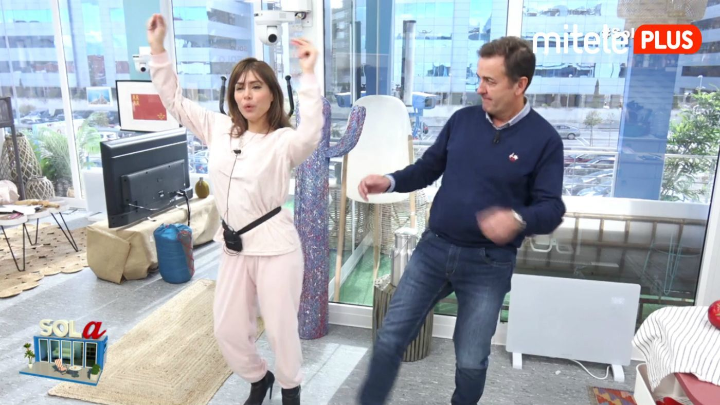 Miriam Saavedra Clase de baile - Con Antonio Montero