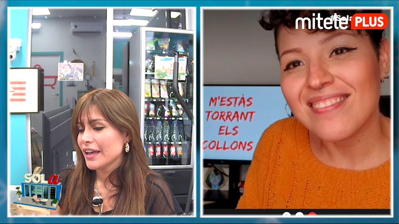 Miriam Saavedra Clase de catalán - Con Genmarie Chacin de @catalan_fácil