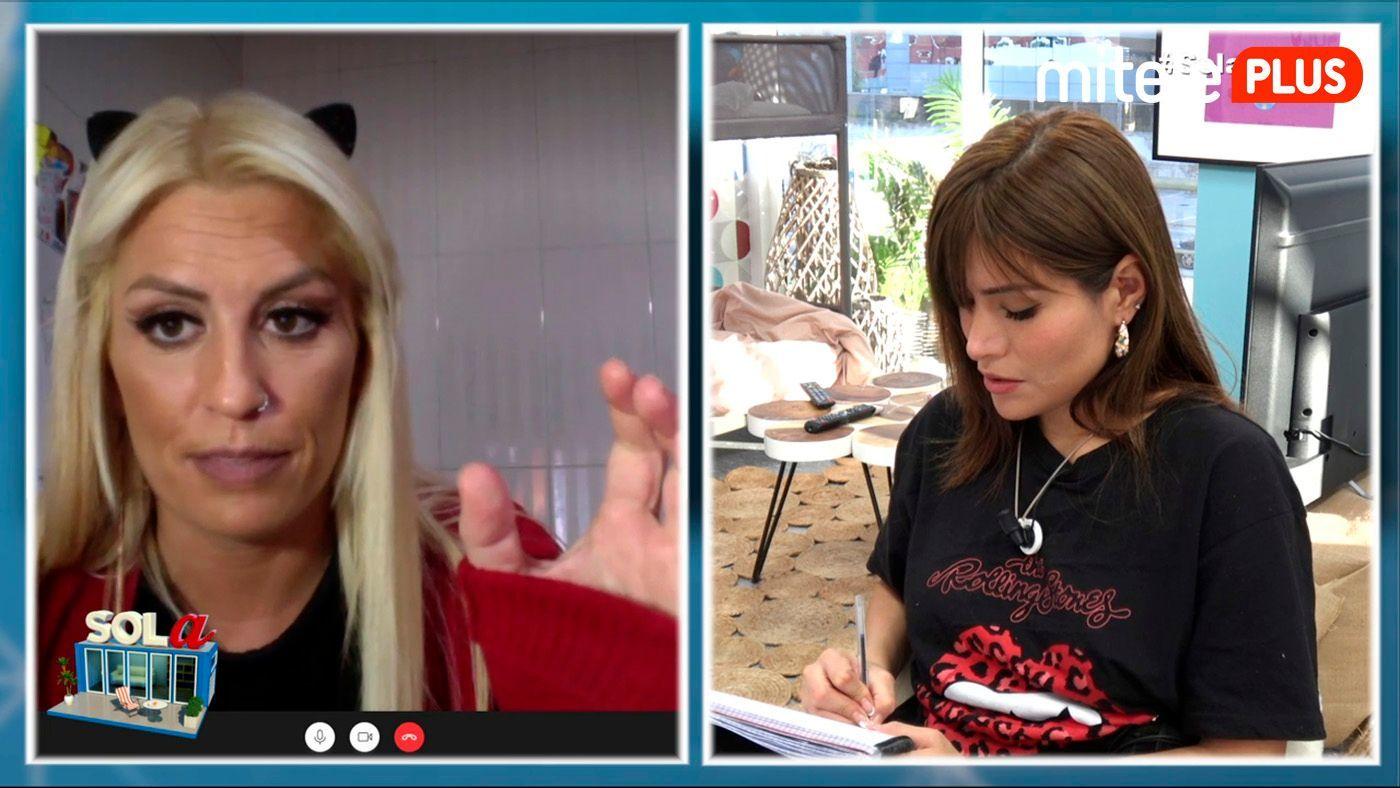 Miriam Saavedra Clase de gallego - Con @noelia_solleiro