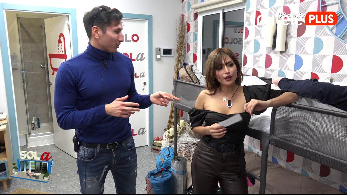 Miriam Saavedra La entrada de Miriam - Gianmarco recibe a la nueva concursante