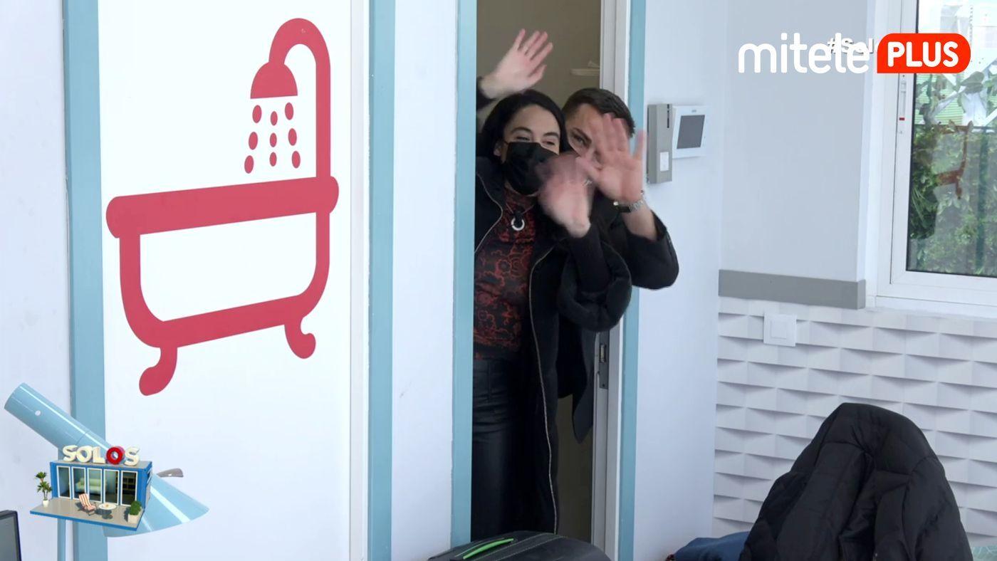 Rafa y Macarena Salida del pisito - Últimos minutos 'Solos'