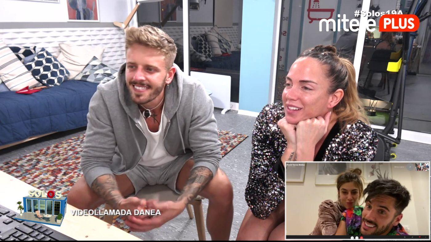 Samira y Óscar Videollamada con Danea - La esperada llamada de Bea y Dani
