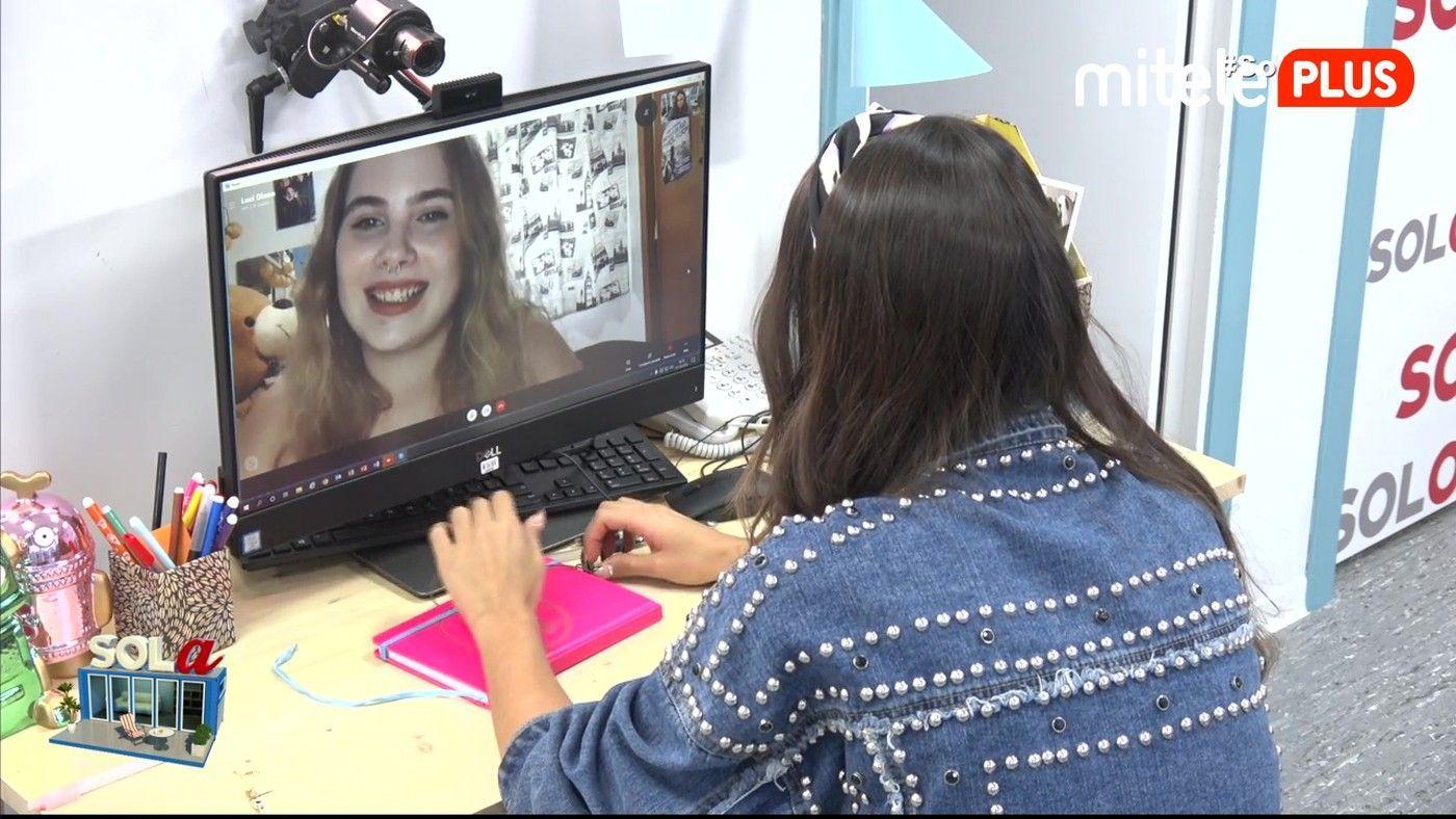 Sofía Suescun Videollamada con la ganadora del sorteo - Sofía habla con su admiradora, Lucía