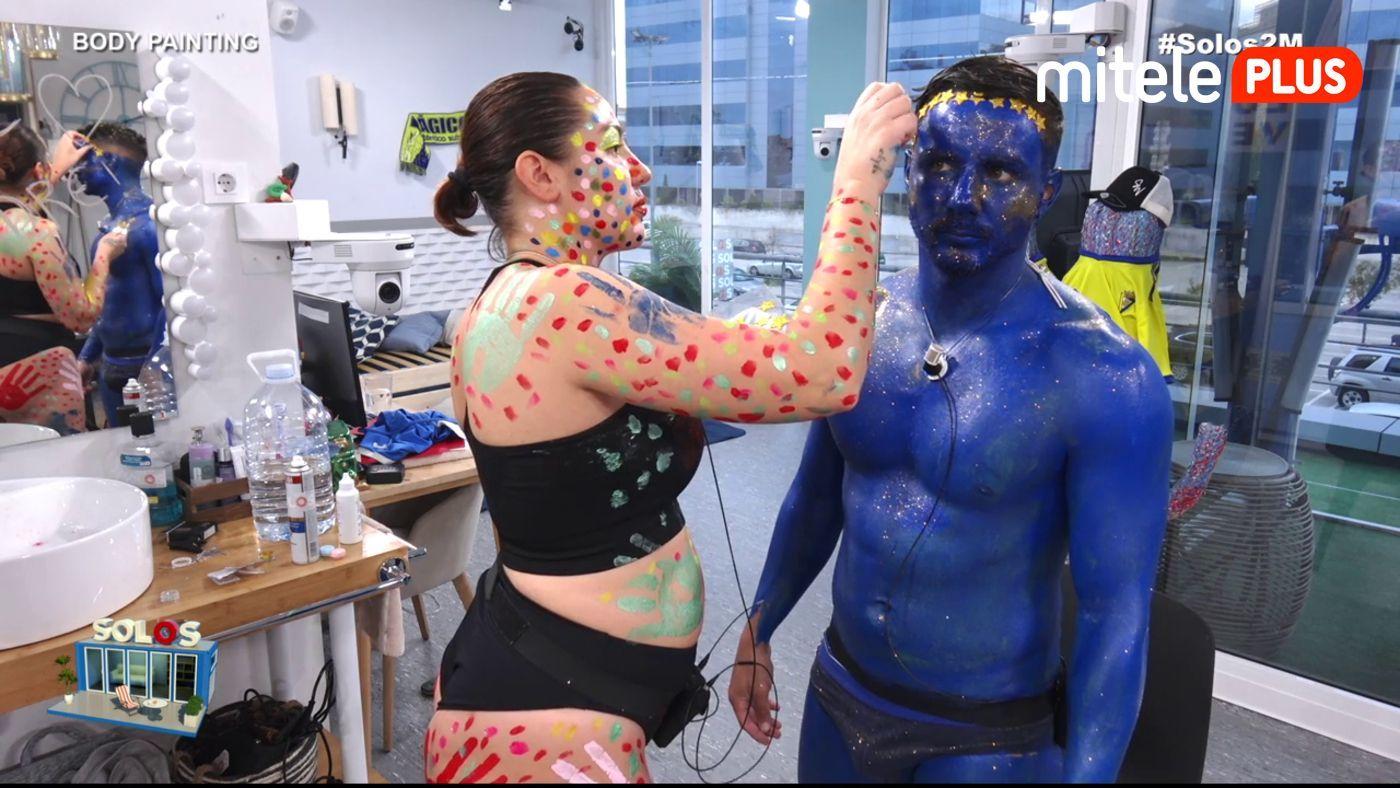 Steisy y Manuel Arte en el cuerpo - Body painting