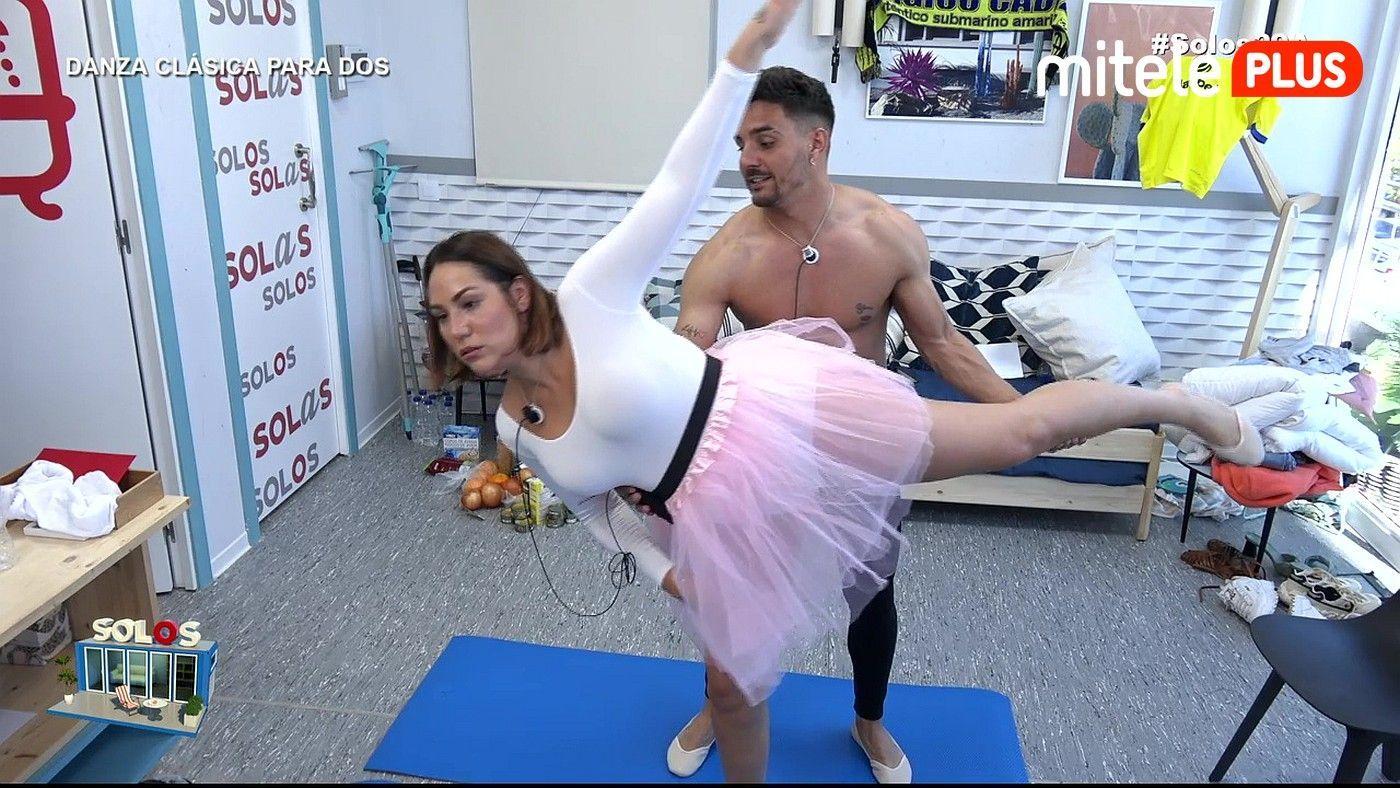 Steisy y Manuel Danza clásica para dos - Primeros pasos de baile