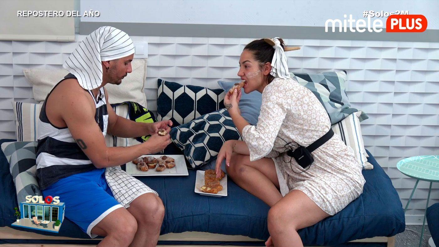 Steisy y Manuel Repostero del año - Competición en la cocina