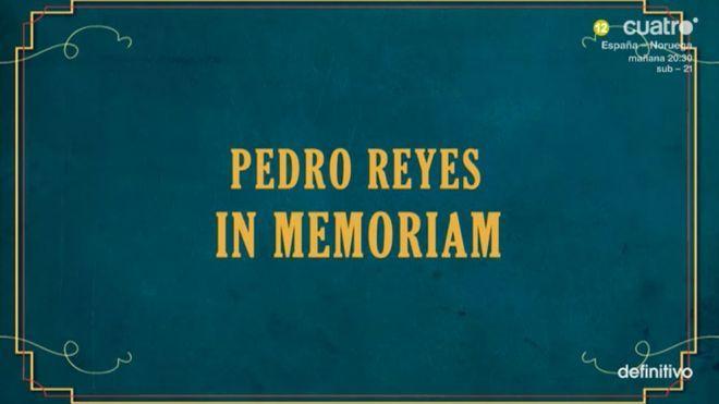 Temporada 1 Sopa de Gansos 2 - Pedro Reyes, in memoriam
