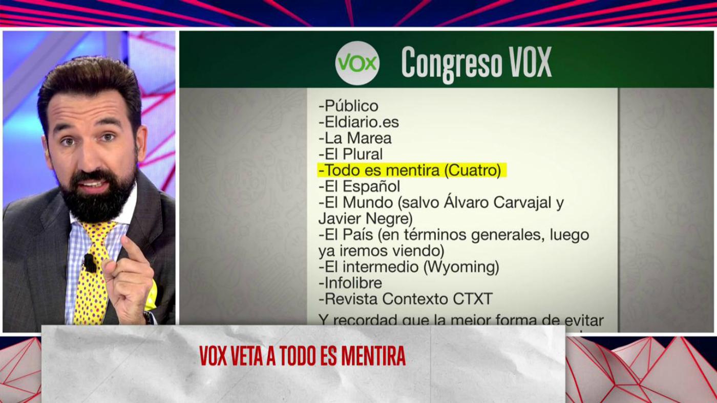 2019 Programa 200 - Vox veta a 'Todo es mentira'