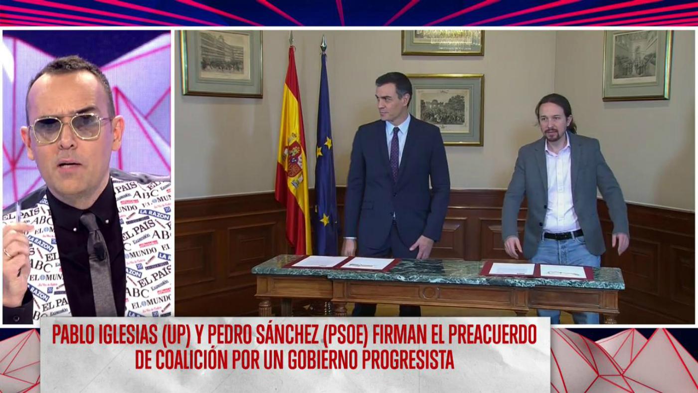 2019 Programa 215 - Sánchez e Iglesias firman un preacuerdo de gobierno
