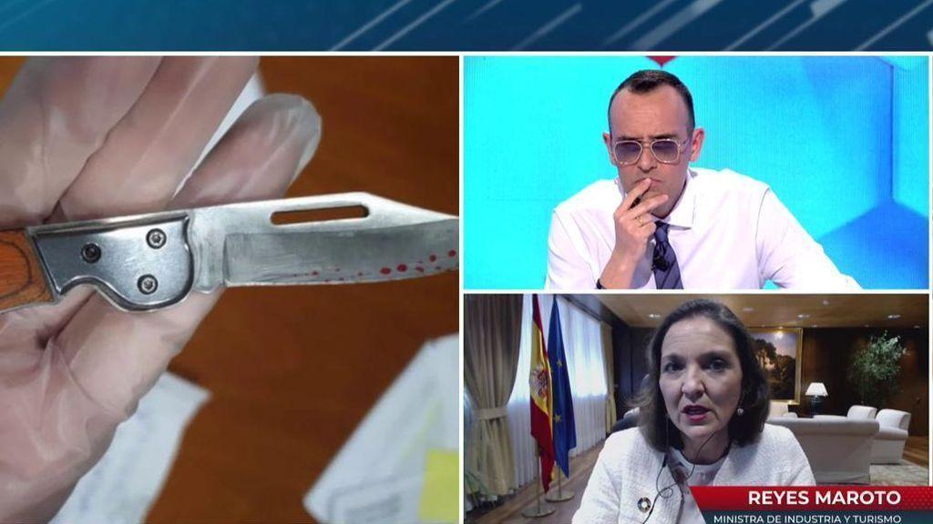 2021 Programa 577 - La primera entrevista de Reyes Maroto tras ser amenazada