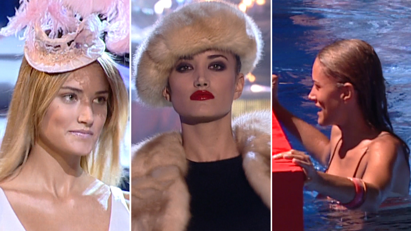 2019 Unplugged 323 - Alba Carrillo se lució y se cayó en 'Supermodelo 2007'
