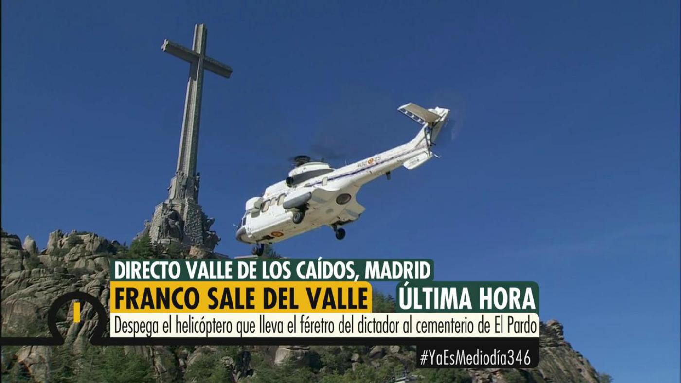 2019 Programa 346 - Franco ya está fuera del Valle de los Caídos