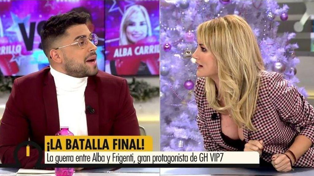 2019 Programa 391 - El tenso reencuentro entre Alba Carrillo y Miguel Frigenti