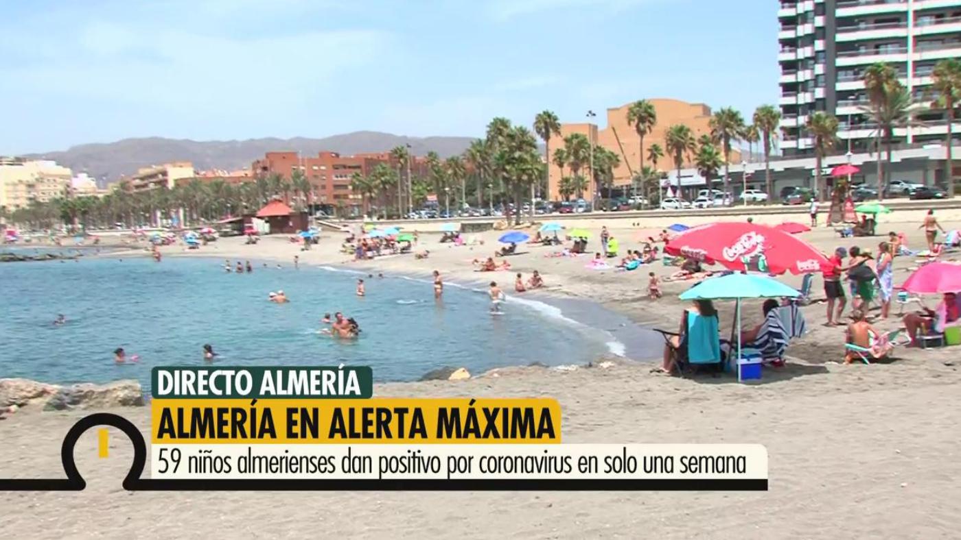 2020 Programa 544 - Alerta máxima por los contagios en Almería