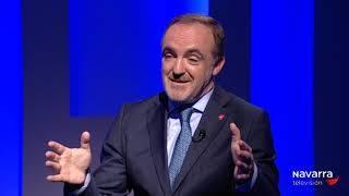 Esparza en Navarra TV: 'Me siento con fuerzas y respaldado'