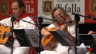 Gran Certamen de la Jota Navarra en Tafalla 6 agosto 2016 parte 1. Memorial Juanito Navarro