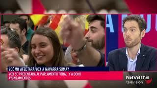Entrevista electoral a Sergio Sayas en 'La Muga'
