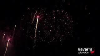 Fuegos artificiales San Fermín 14/07/19