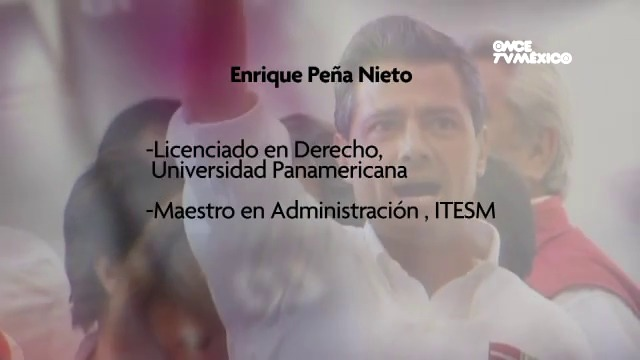 Llegada de Enrique Peña Nieto a la presidencia del país