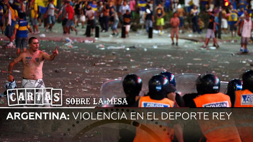 2019-10-08 - Argentina: violencia en el deporte rey