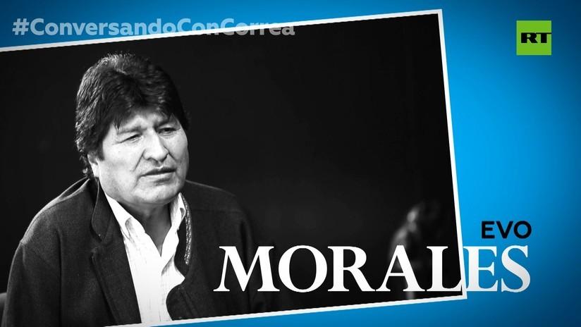 2019-11-21 - Evo Morales a Correa: