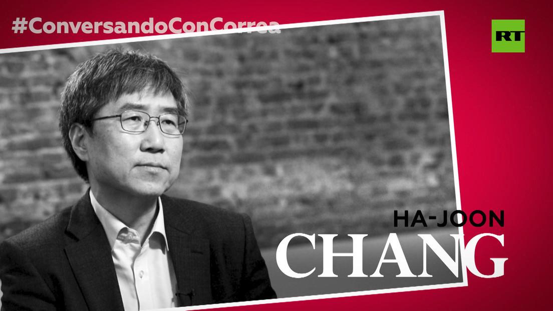 2020-02-13 - Economista Ha-Joon Chang a Correa: