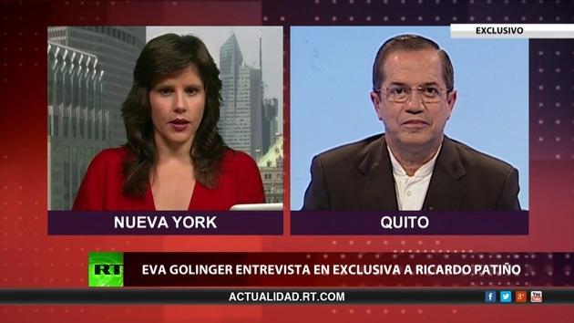 2013-07-10 - Detrás de la noticia: Entrevista con Ricardo Patiño