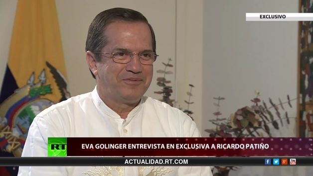 2013-09-25 - Detrás de la noticia: Entrevista con Ricardo Patiño, canciller de Ecuador