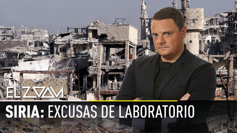 2018-04-11 - Siria: Excusas de laboratorio