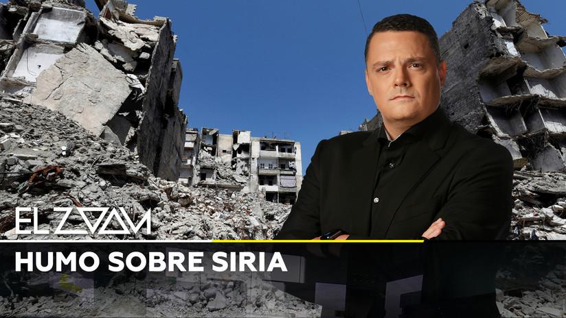 2019-05-24 - Humo sobre Siria
