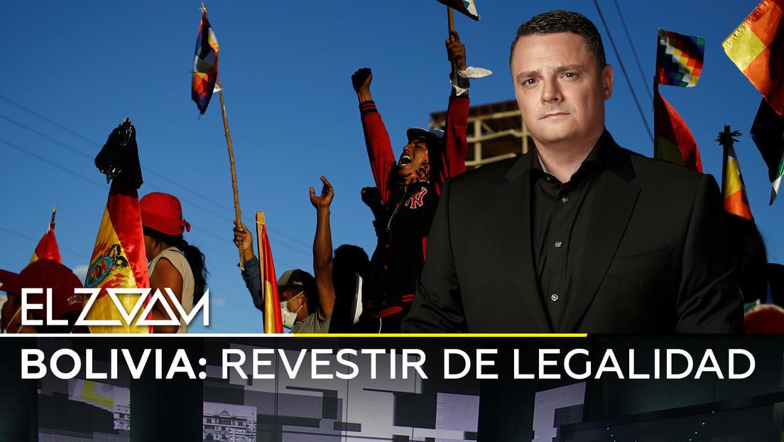 2019-11-27 - Bolivia: Revestir de legalidad