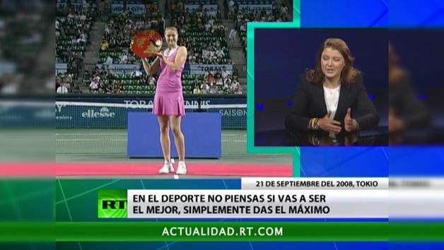 2012-10-22 - Entrevista con Dinara Sáfina,  tenista ex número uno del mundo