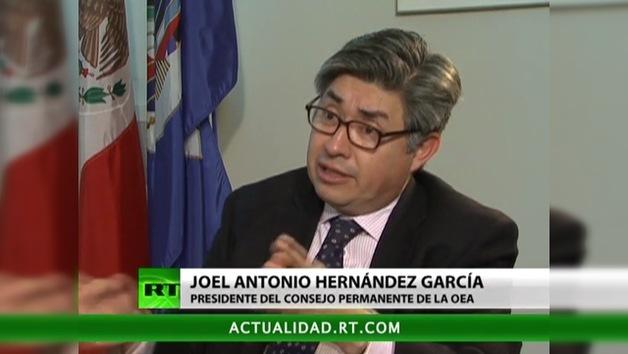 2012-11-27 - Entrevista con Joel Antonio Hernández García,  presidente del Consejo Permanente de la OEA